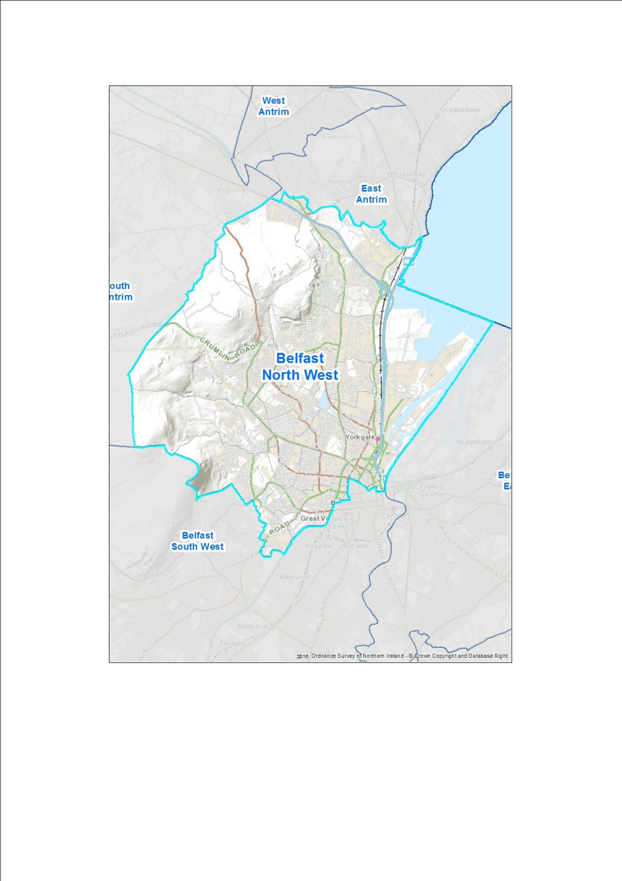 Provisional Proposal Belfast North West